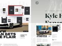 Top 4 — 2018 vw tiguan logo identity layout website type typography sketch top4shots