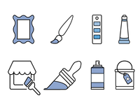 Paint Icon Set