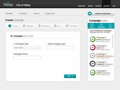 Outbound Scheduling App website web ux ui design