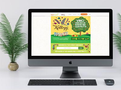 Kellogg illustrations website user interface design user interface webdesign illustration graphics