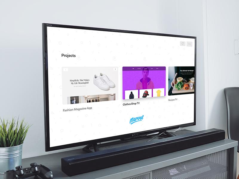 Marvel for Apple TV by Maxime De Greve ✈ for Marvel on Dribbble