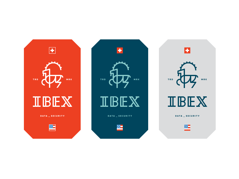 Ibex Data Security Business Cards By Nelson Couto Dribbble Dribbble