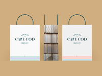 Cape Cod Jewelry shopping bag