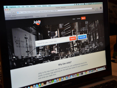 Jobly-Landing page