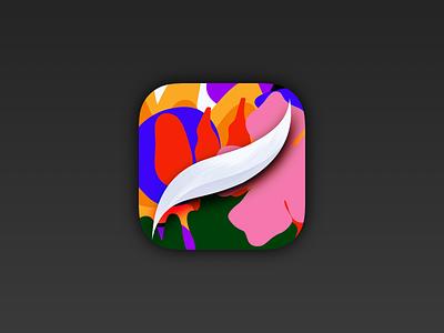 Procreate Icon — Official Playoff playoff procreateapp procreate logo vector illustration design ipad freebie retina ios iphone icon