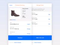 Web App Checkout