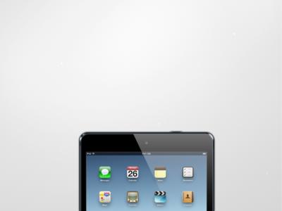 iPad Mini psd