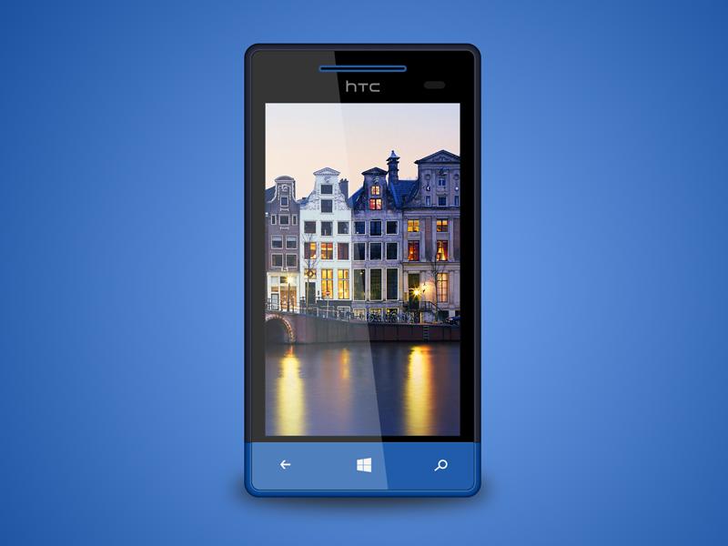 Htc 8s free psd free htc 8s psd freebie windows phone windows 8