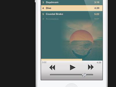 iTunes 11 for iPhone (Album View)