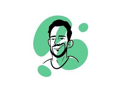 Portrait Illustration procreate agency team design team animation portrait illustration portrait team illustration blog illustration