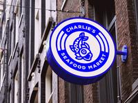 Charlie's Seafood Market Logo