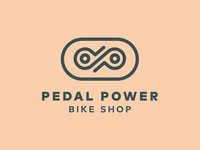 Pedal Power Bike Shop Logo