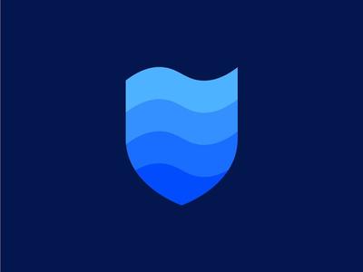 AAPCA Logo icon monochrome gradient shield logo