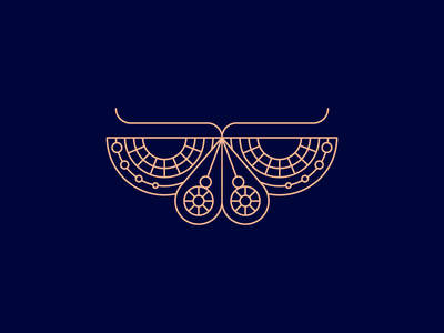 Butterfly Exploration 🦋 exploration butterfly design icon line minimal logo