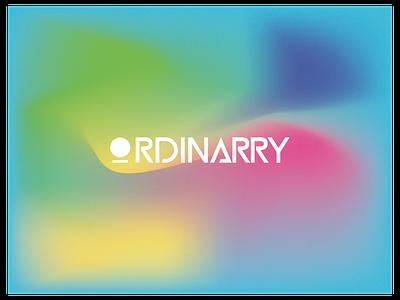Ordinarry dribbble freelancing graphic design minimal gradient ui logo illustration design creative branding app