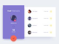 Leaderboard - UI