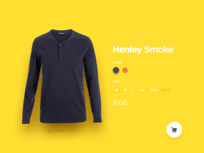 Customize Product minimal diffuse shadows customize product yellow day33 dailyui