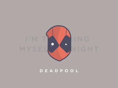Deadpool - freebie freebies psd deadpool red face freebie wade illustration