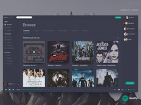 Spotify - Unofficial Redesign