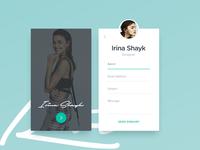 Profile contact