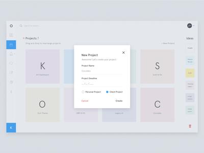 New Project - Krt Dashboard