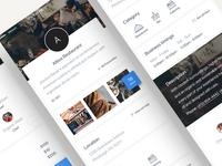 iOS Restaurant profile - Full