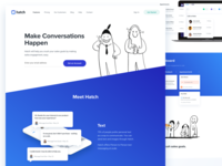Hatch App - Website Redesign - Features page
