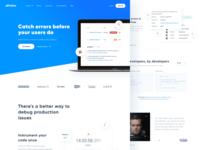 Rollbar.com - Redesign