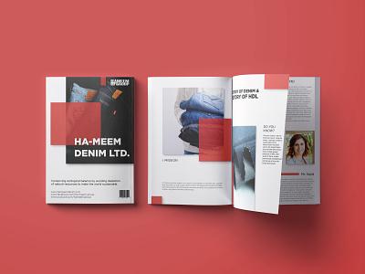 Magazine vector design typography branding graphic design