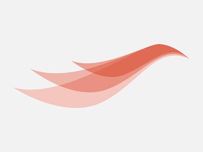Firethroat Press Logo logo bird fire