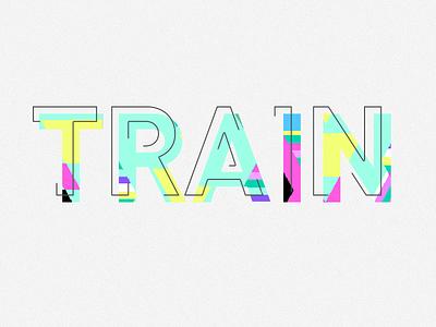 Train typography