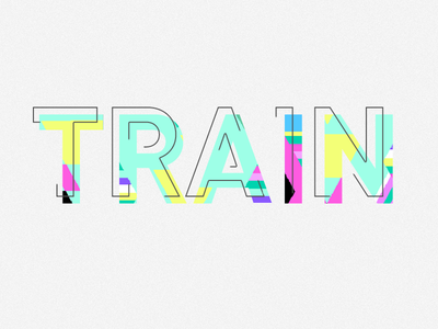 Train typography