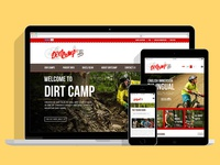 Dirtcamp Website Design