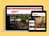 Dirtcamp Website Design