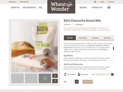 Wheatless Wonder Single Product Page artisan organic gluten-free bakery bread