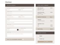 Wheatless Wonder - Checkout / Cart Page