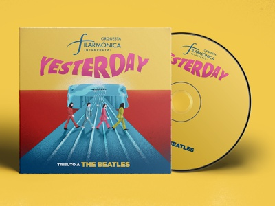 Cover for Filarmonica's Tribute to the Beatles (NOT OFFICIAL) mockup illustration