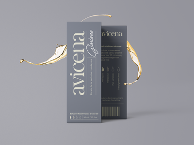 Avicena packaging done at mono cromático. logo design packaging design package design packaging box logotype vector typography logo branding mockup