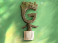 36 Days of Type: G is for Groot (or Guardians of the Galaxy)