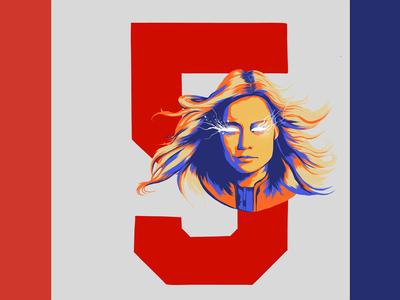Women of Marvel - 5: Captain Marvel