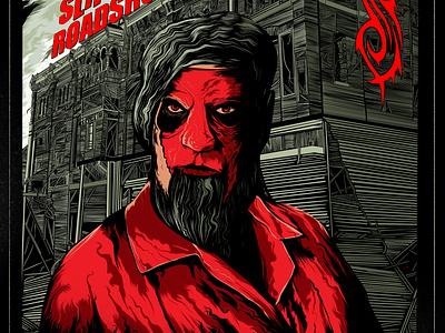 Slipknot Roadshow - Jim Root jim root ink illustration