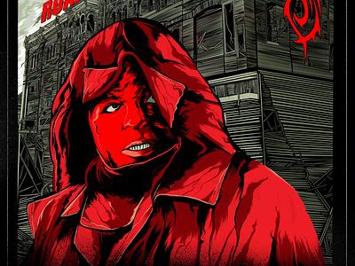 Slipknot Roadshow - Sid Wilson sid wilson metal slipknot illustration