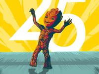 Baby Dancing Groot