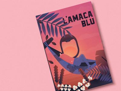 L'amaca Blu - Book Cover Illustration