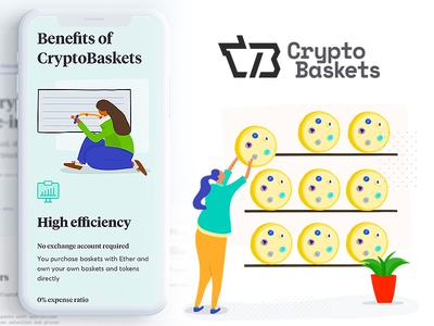 CryptoBaskets - create, buy and sell custom Ethereum tokens
