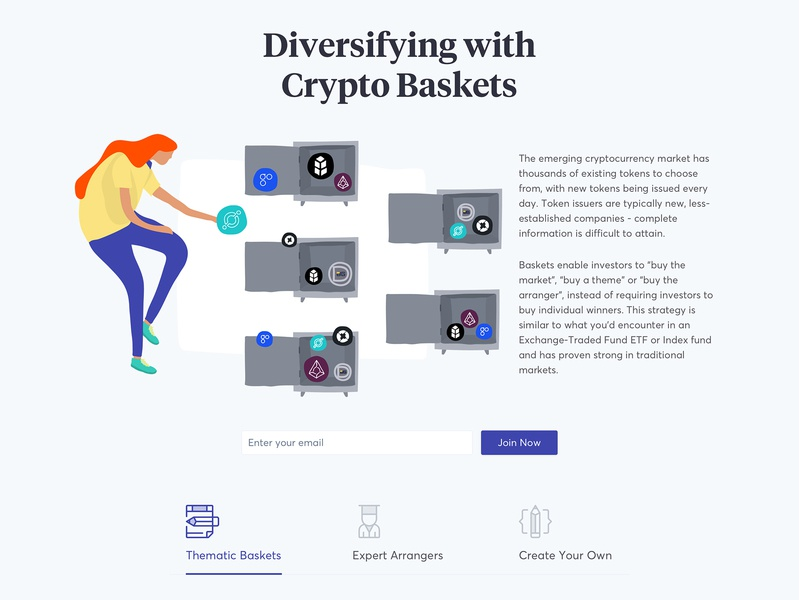 Cryptobaskets by Igor Zelenetskyi on Dribbble