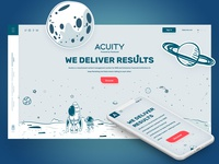 Acuity Landing Page