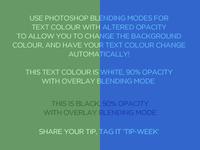 Photoshop blending modes tip