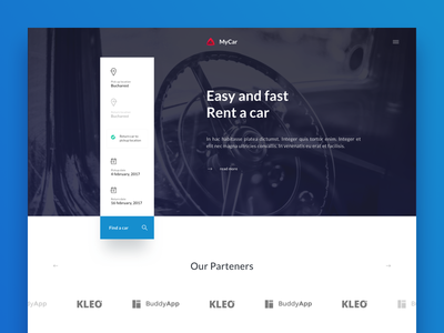 MyCar travel mycar mercedes property search module ui theme car booking rental