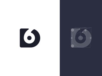 New Desix Creative Logo circles guides identity logo construction d6 branding logo